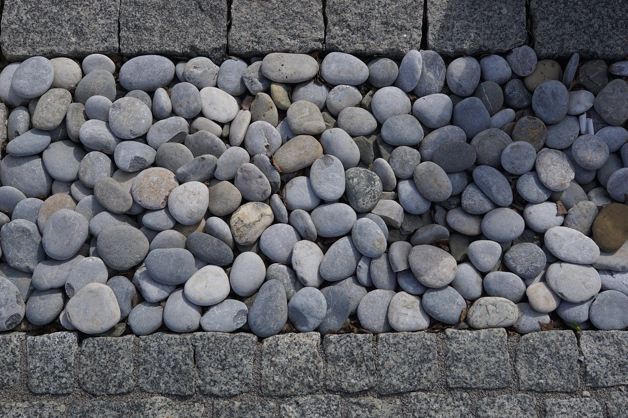 Kamień ogrodowy - podjazd